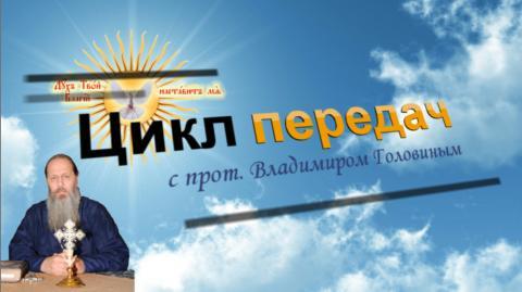 Видеопередача с прот. Владимиром Головиным