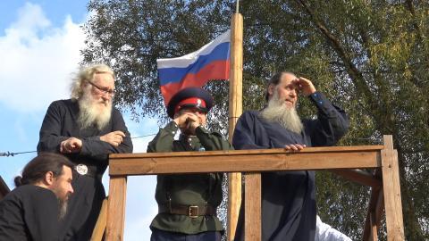 Созидается православная община - поселение